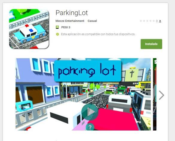 ParkingLot store